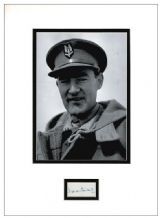 David Stirling Autograph Signed Display - SAS
